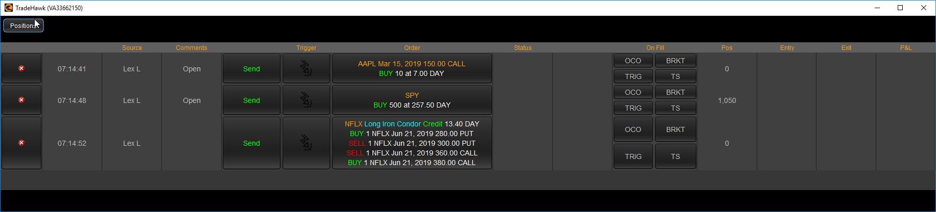 TradeHawk Strategy Tracker